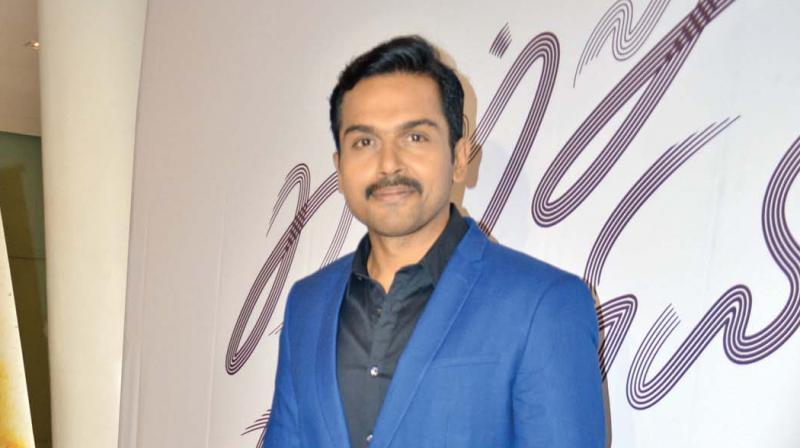 Suriya to produce, Karthi is the hero!