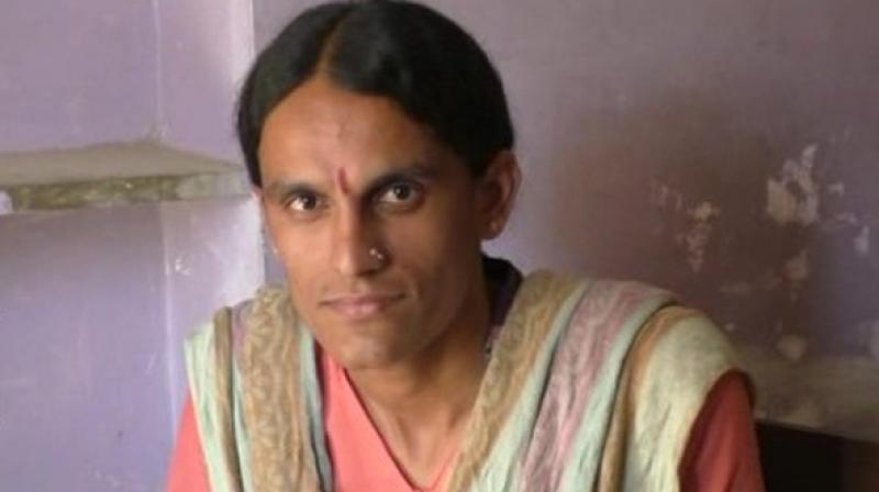 Constable Ganga Kumari, who hails from Jalore, becomes third transgender woman to be appointed at a government position. (Photo: ANI)