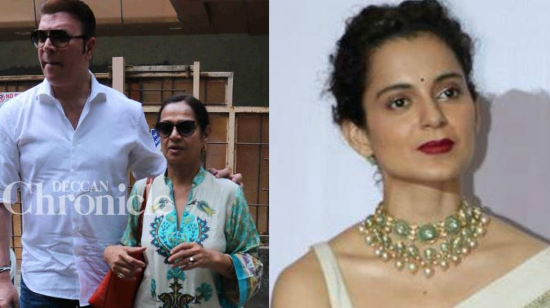 'I can't be called a woman beater': Aditya files defamation case against Kangana