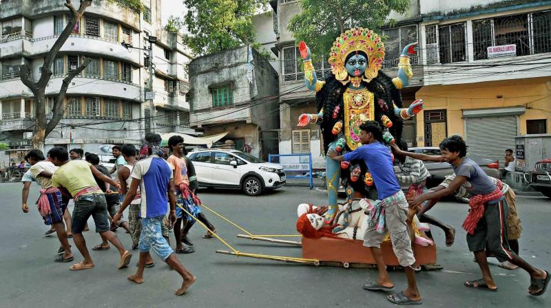 Diwali is celebrated as the triumph of good over evil and light over darkness. (Photo: PTI/ AP)
