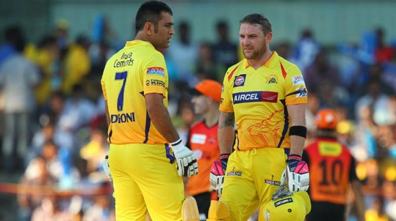 Brndon McCullum has spent lot of time with his Indian counterpart in the Chennai Super Kings dressing room. (Photo: BCCI)
