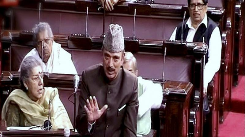 Azad seeks apology from BJP
