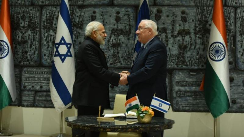 I for I: India stands with Israel, says Modi during meet with Prez Rivlin