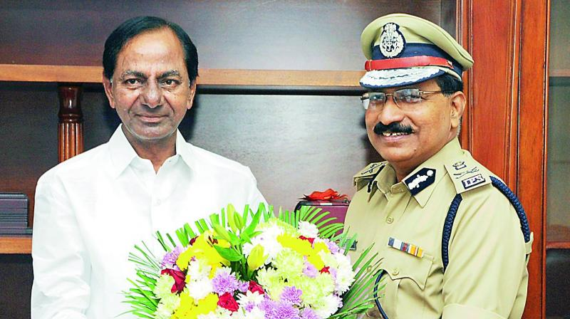 Mahender Reddy appointed as DGP of Telangana