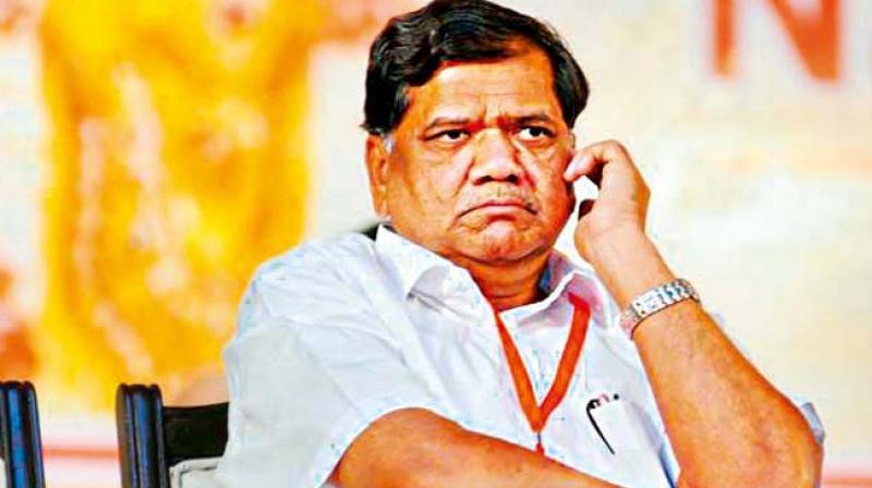 Former CM Jagadish Shettar.