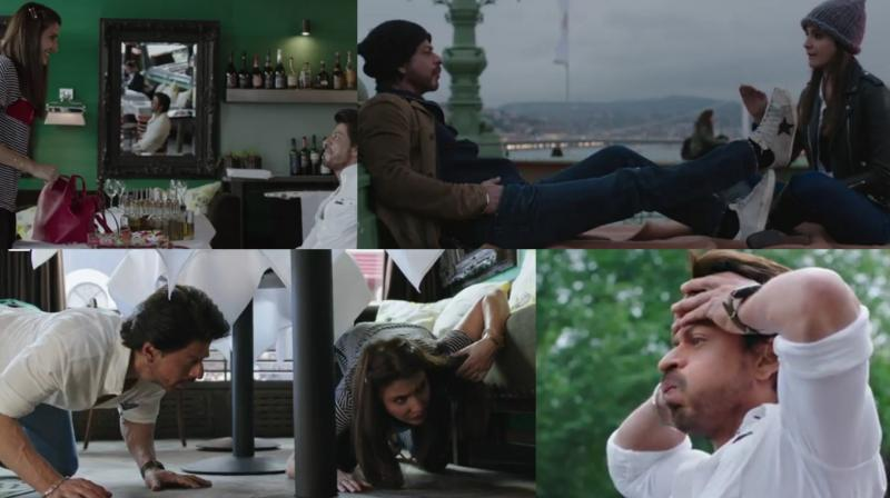 Making of Anushka Sharma and Shah Rukh Khan's 'Radha' song