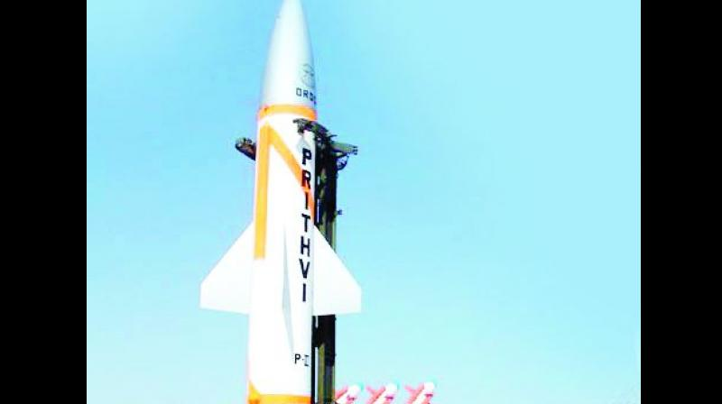 India successfully test-fires indigenous nuclear-capable Prithvi-II missile in Odisha