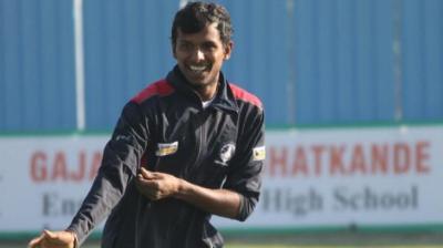 T Natarajan enjoyed a successful stint for Dindigul Dragons in the inaugural TNPL. (Photo: T Natarajan)