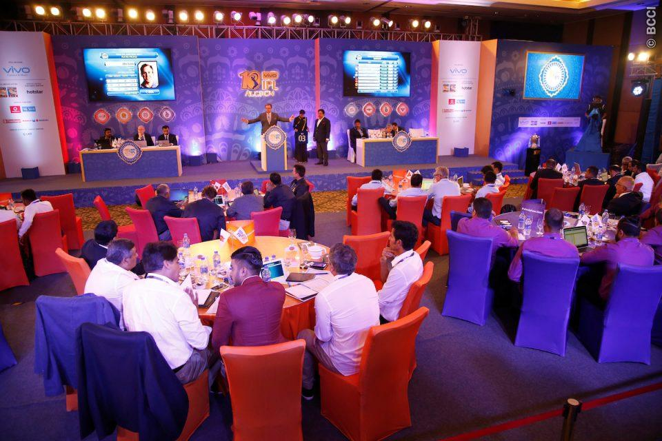 The Indian Premier League (IPL) 2017 player's auction took place on Monday, in Bengaluru. A total of Rs 91.5 crore was spent by 8 franchises to buy 66 players, including 27 overseas players. Ben Stokes was the most expensive player at the auction, while Karn Sharma was the most expensive Indian. (Photo: BCCI)