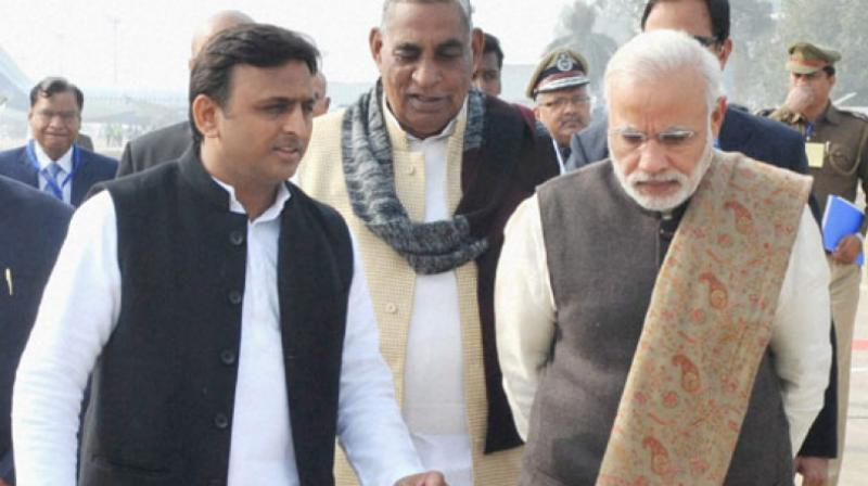 UP polls: Akhilesh Yadav, Rahul Gandhi call for crushing BJP's divisive politics