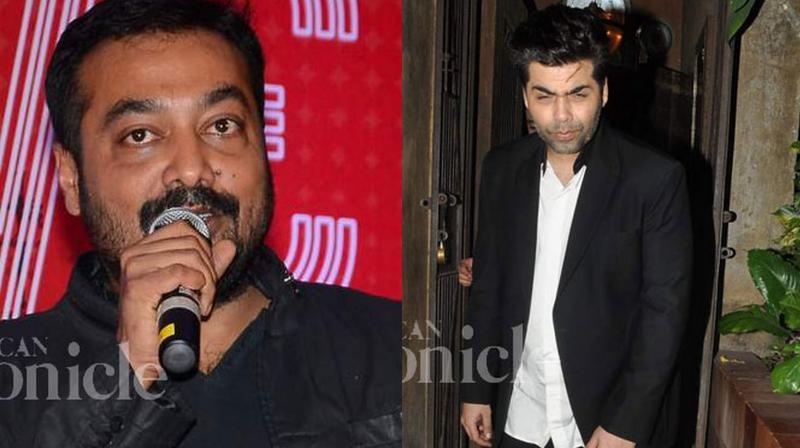 Karan had acted in Anurag's 'Bombay Velvet&#039