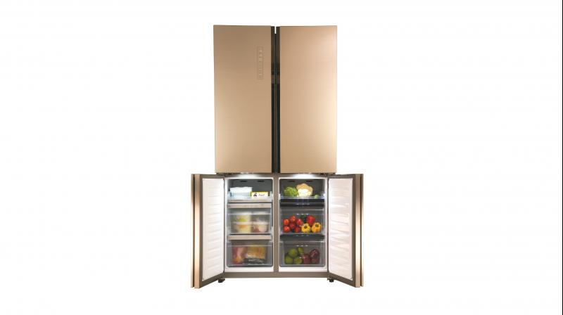 Haier Launches New French 4 Door Refrigerator