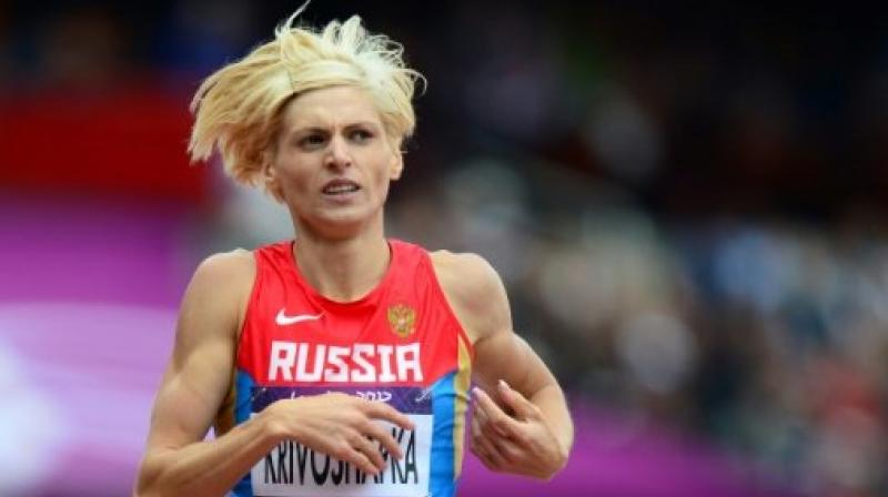 Russians banned for doping at Olympics, track worlds
