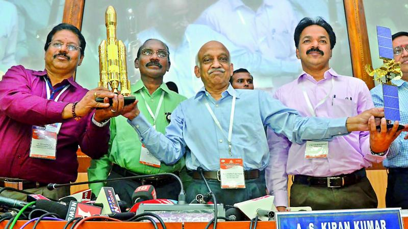 India's heaviest satellite GSAT-19 launched