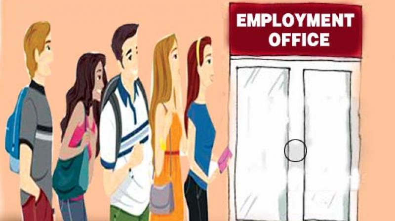 According to state official sources during 2016-17, 5, 802 job seekers were absorbed in state government through employment offices and 20,778 job seekers were placed in various private sectors through job fairs by the state government, sources added.
