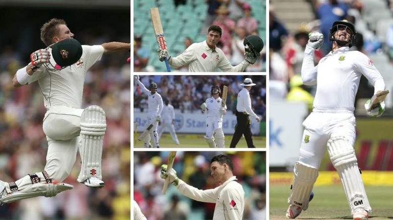 We are just four days into 2017, but there have already been a number of swashbuckling centuries scored in Test cricket. Here's our list of five of the best 100s in 2017 so far. (Photo: AP/ AFP)