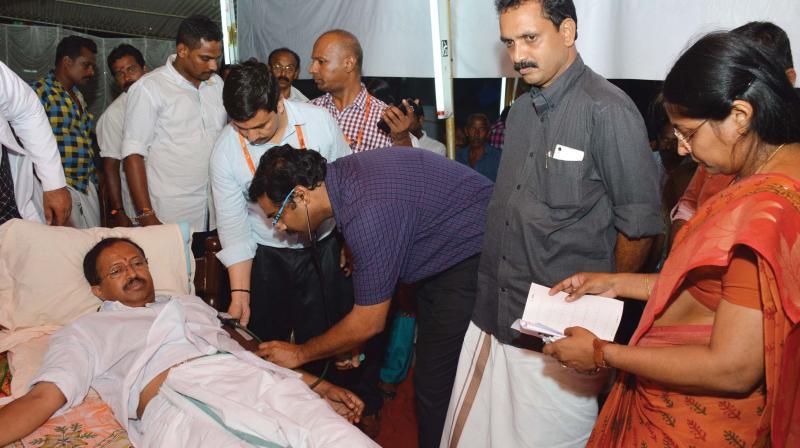 Kerala law academy agitation striking bjp steals the thunder for V muraleedharan bjp