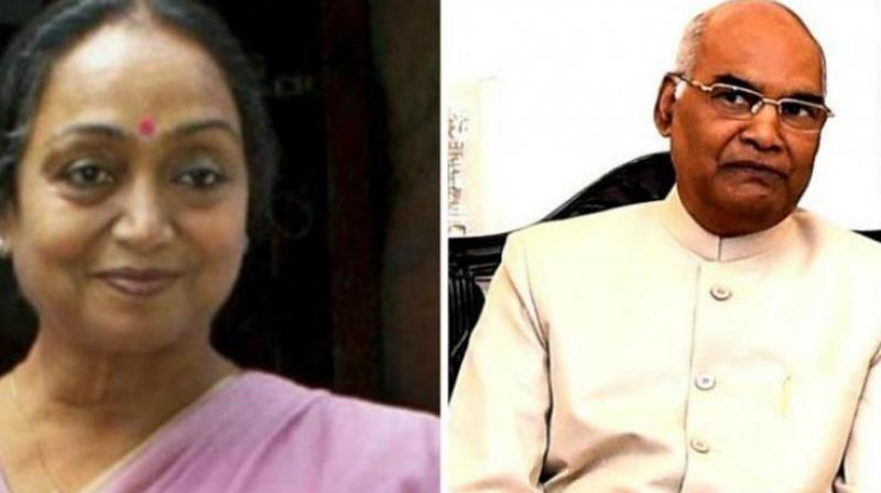 Opposition presidential candidate Meira Kumar; Ram Nath Kovind the NDA candidate for President of India