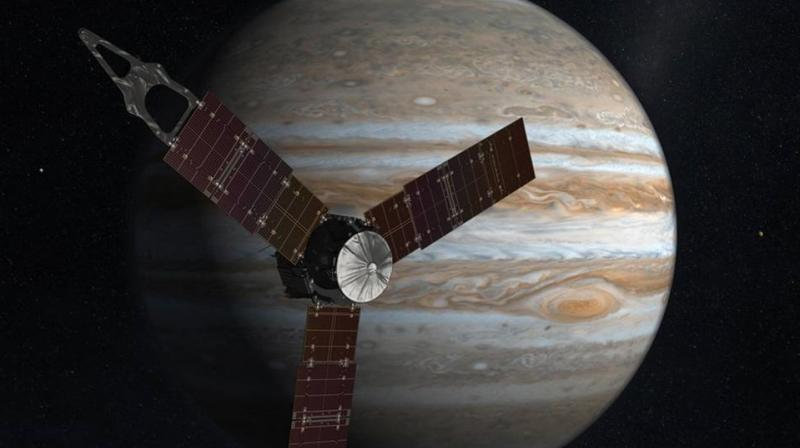NASA's Juno to Fly Directly Over Jupiter's Mysterious Red Spot Now
