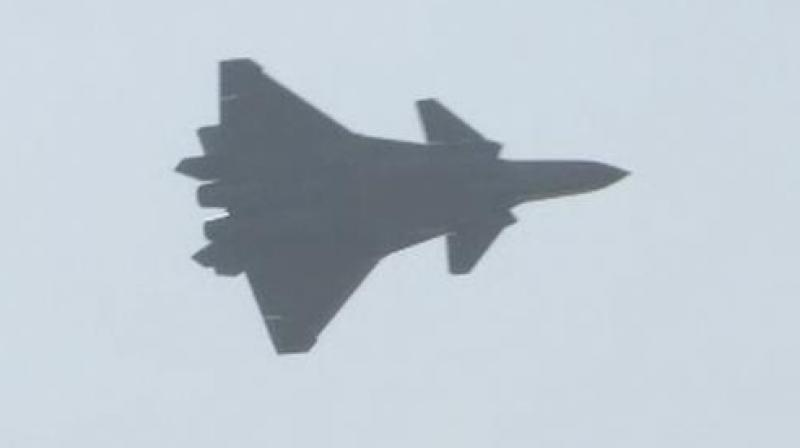 China demonstrates stealth fighter J-20 fifth generation