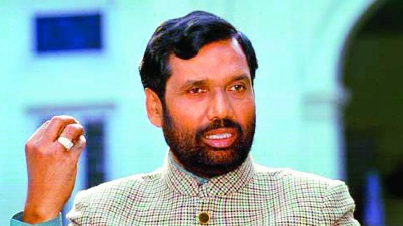 Food and Consumer Affairs Minister Ram Vilas Paswan
