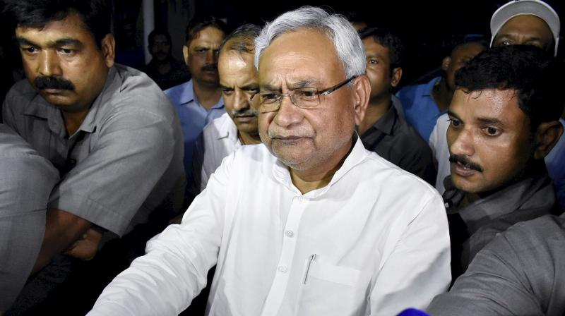 Nitish Kumar takes oath as Bihar CM with BJP's backing