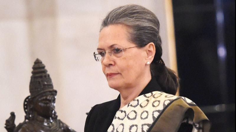 Congress President Sonia Gandhi (Photo: PTI)