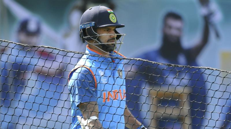 Dhawan to miss first three ODIs against Australia