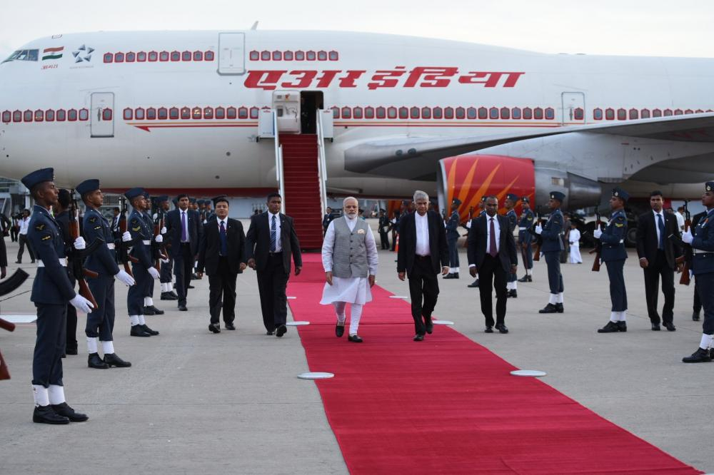 Prime Minister Narendra Modi arrived in Colombo on Thursday on a two-day visit. The visit is mainly aimed at reinforcing the traditional connect between India and Sri Lanka.