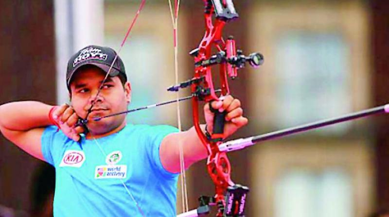 Indian men's team beats Columbia in compound event finals to clinch Gold