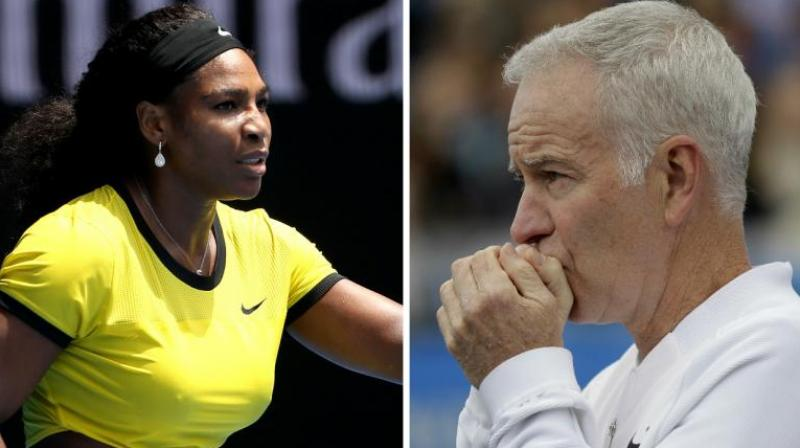 John Mc Enroe had said that while he has great respect for Serena he would place the 23-time Grand Slam winner