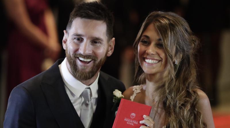 Lionel Messi and Antonella Roccuzzo's Wedding in Argentina