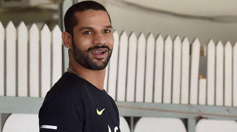 Dhawan replaces injured Murali Vijay for Tests in Sri Lanka