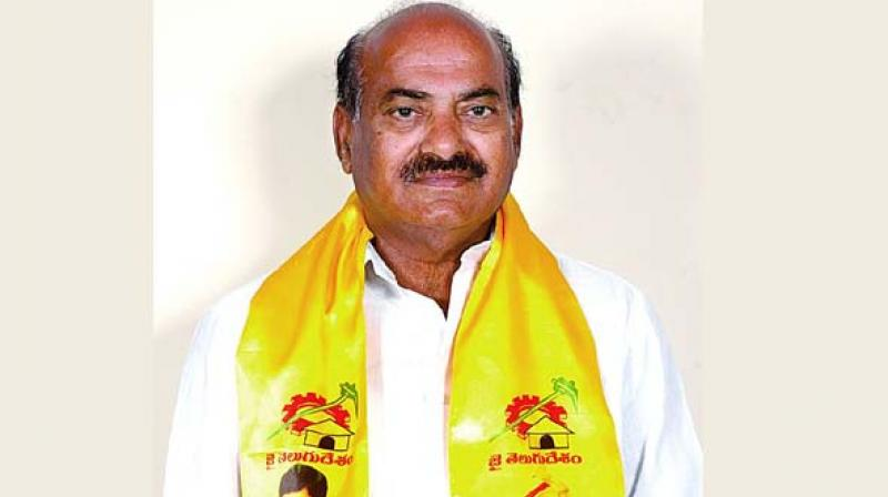 TDP MP banned by domestic airlines flies to Europe