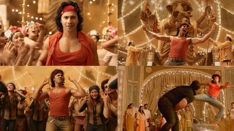 Judwaa 2: Watch Varun Dhawan in energetic song Suno Ganpati Bappa