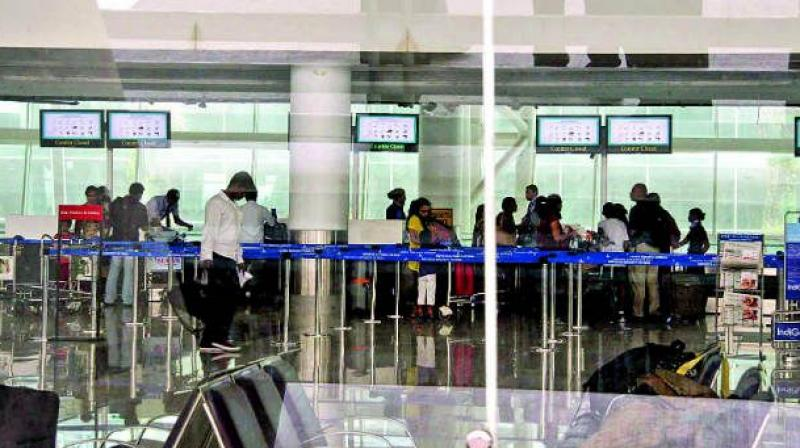 At present, those going abroad need to fill in details such as name, date of birth, passport number, address in India, flight number and date of boarding in the departure card. (Representational Image)