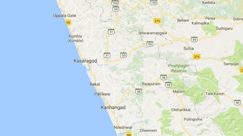 The renamed Thuruthi Street is located near Padannal village in Kerala's Kasargod district. (Photo: Google Maps)