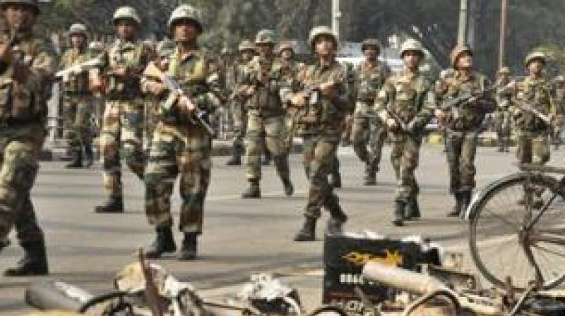 Earlier, the Home Ministry had put on hold the dispatch of 400 additional paramilitary personnel to Darjeeling for want of a report on the situation from the state government. (Representational Image)