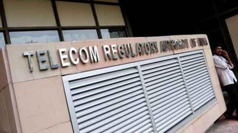 Telecom Regulatory Authority of India.