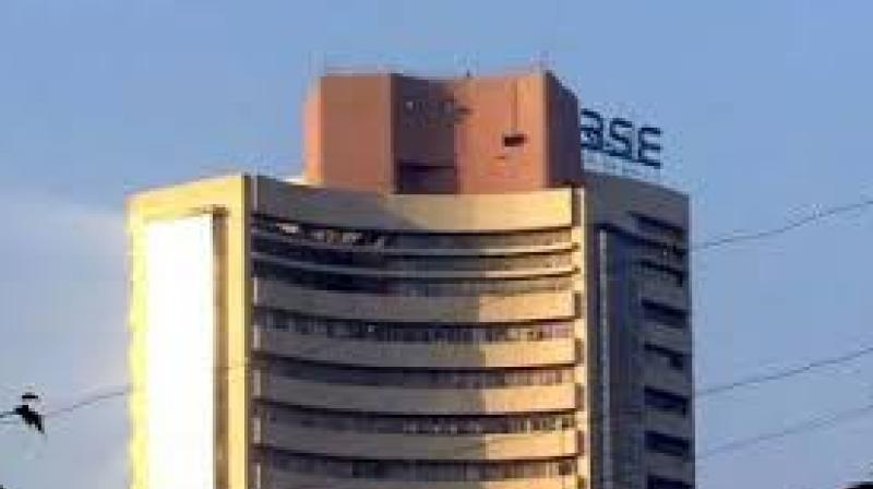 Market's 4-day winning spell stalls, Sensex trips 104 points