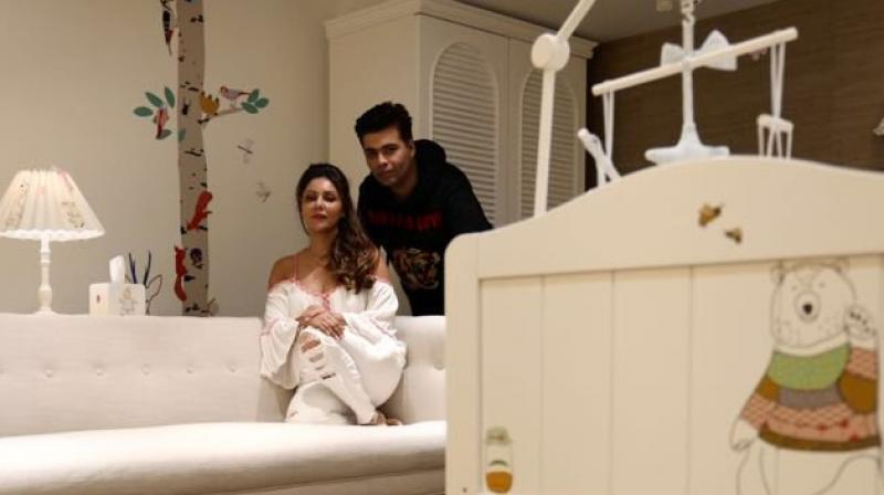 Gauri Khan designs nursery for Karan Johar's babies and it's too adorable!