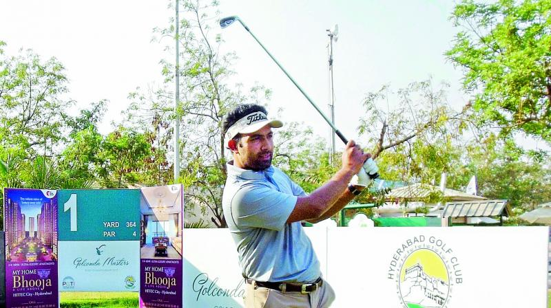 Noida's Dipankar Kaushal struck a hole-in-one on the 11th during his round of 72. He was placed tied 42nd.