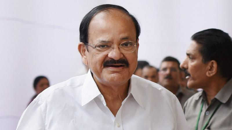 Name of Union Minister M Venkaiah Naidu has surfaced as BJP's vice presidential candidate. (Photo: PTI)