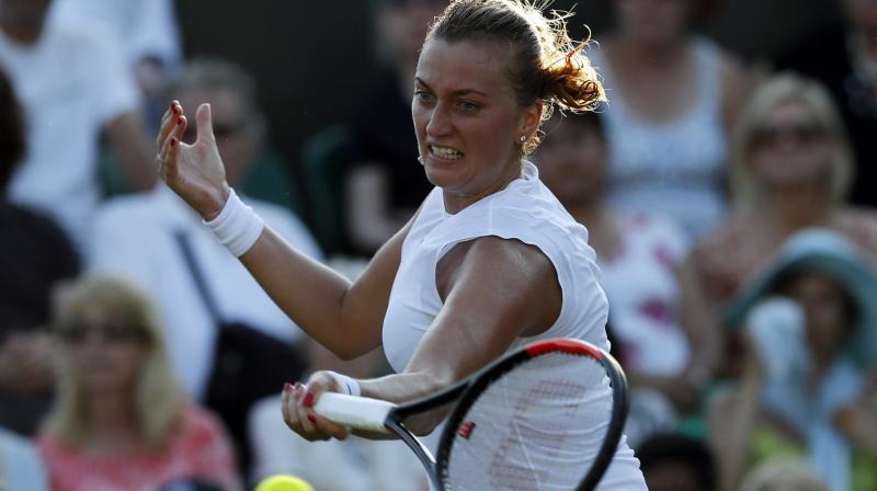 Kvitova eyes tour return after disappointing Wimbledon exit