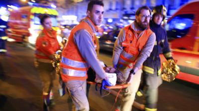 On Sunday, June 4, 2017, three knife-wielding attackers wearing fake suicide vests unleashed a terror rampage through central London, plowing a high-speed van into pedestrians on the iconic London Bridge before stabbing revellers in a nearby market, killing seven people and injuring 48. (Photo: AP)