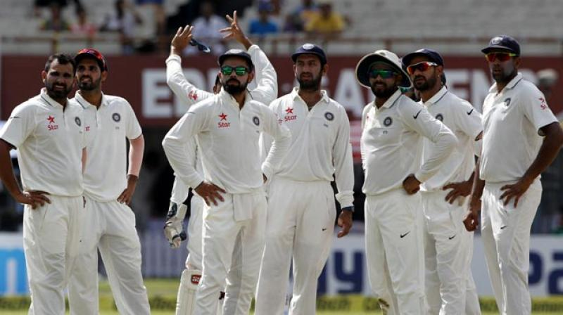 Virat Kohli-led Indian side will take on Alastair Cook's England in a five-Test series starting in Rajkot. (Photo: BCCI)