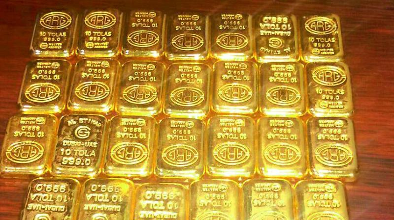 Tax rates for gold has not been decided yet.