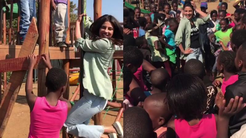 Priyanka Chopra dismayed by child sexual abuse in Zimbabwe