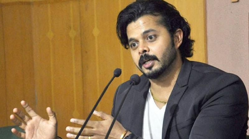 Sreesanth can't play for any other country: BCCI