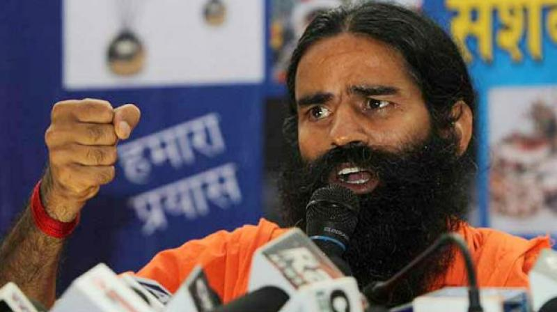 Ramdev said that China has retaliated with a war threat every time India approached on peaceful terms, and asked Indians to answer them on the same front. (Photo: PTI)